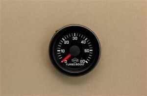 Eva 2 1 16 Turbo Boost Pressure 0 60 Psi R5623r Gauge Only Isspro Autometer