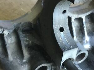 H 1600cc 1500cc Engine Block Case Volkswagen Vw Air Cooled Bug Bus Ghia Type 1 2