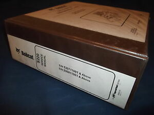 Bobcat S220 Skid Steer Loader Service Shop Repair Manual Book Original 6904155