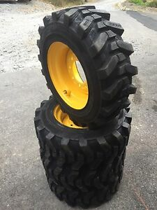 4 10 16 5 Hd Skid Steer Tires Camso Sks532 10x16 5 New Holland Lx565 Lx665