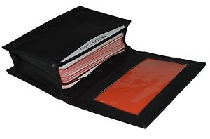 Wholesale Lot 50 Units New Black Leather Business Credit Card Holder Or Wallet