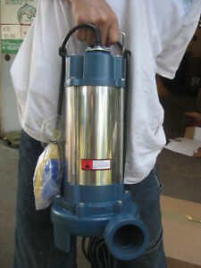 1 5hp Industrial Sewage Cutter Grinder Submersible Sump Pump 60gpm msrp 1700