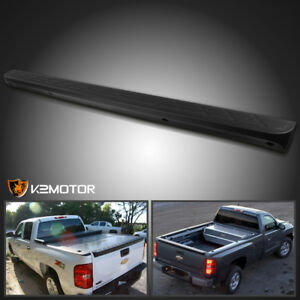 2007 2014 Silverado Sierra 1500 Black Tailgate Moulding Top Protector Cover