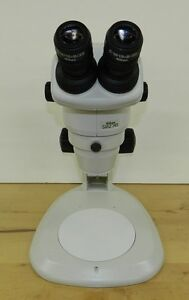 New Nikon Smz 745 Stereozoom Microscope With Track Stand And Eyepieces