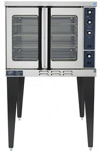 new Duke E101 g Commercial Single Deck Gas Baking Convection Oven W Legs