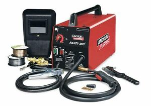 Lincoln Electric 115volt 20 Amp Handy Mig Welder Flux Core Wire Feed Arc Machine