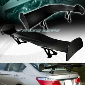 Universal 57 Dragon Style 3d Real Full Carbon Fiber Rear Trunk Gt Spoiler Wing