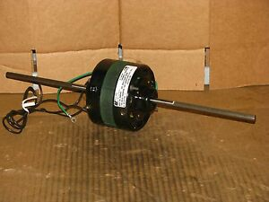 New Magnetek 1 25 Hp Double Shaft Blower Motor Stock 322 Model Ca2e130n