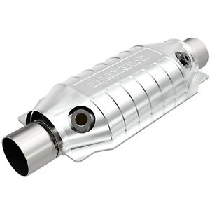 Magnaflow 99069hm High flow Catalytic Converter Oval 3 In out W Dual O2 Obdii