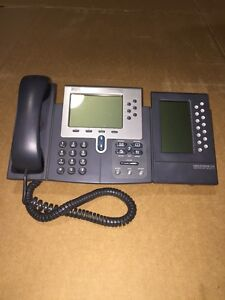 Cisco Ip Phones 7960 With 7914 Module