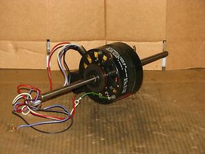 New Universal Electric 3 Speed 1 25 Hp Double Shaft Blower Motor Stock 382