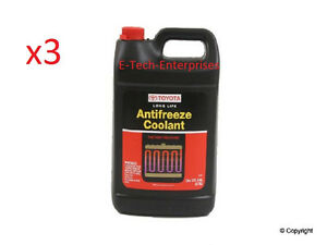 3 Gallon Genuine Toyota Long Life Engine Coolant Antifreeze For Lexus 002721llac