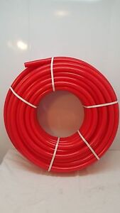 250 1 1 2 Non Oxygen Barrier Red Pex Tubing For Heating plumbing potable Water