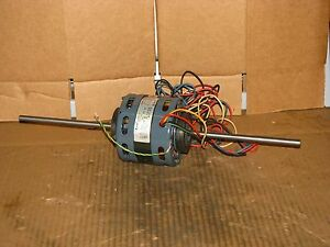 New Fasco 3 Speed 1 10 Hp Double Shaft Blower Motor Model D336