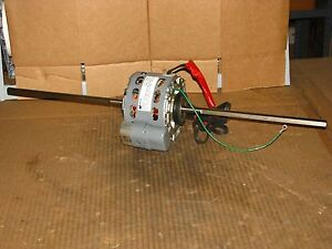 New Magnetek 1 25 Hp Double Shaft Blower Motor Stock 372 Model De3d389n