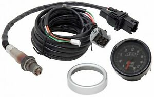 Aem Analog Face Wideband O2 Uego Gauge Sensor Kit Air Fuel Ratio Afr Meter