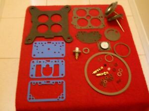 Holley 4180 Series Carb Rebuild Kit For 600 Cfm Vs With De Choke Diaphragm