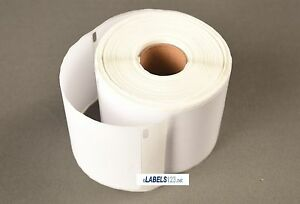 200 Rolls White Labels Compatible Dymo Address Return 30857 Internet Shipping