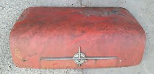 1956 56 Oldsmobile Super 88 Rear Trunk Deck Lid Cover Shipping Included