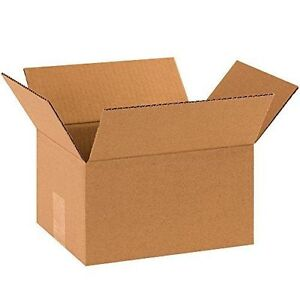25 14x8x6 Cardboard Shipping Boxes Corrugated Cartons
