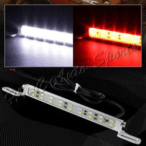1 X White Red 6000k 18 Led Car License Plate Light Backup Brake Lamp Universal 4