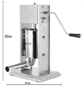 New Ce Vertical 3l 7l Commercial Sausage Stuffer Stainless Steel Meat