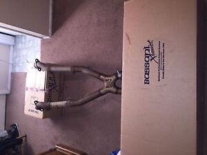 Mustang Gt 99 04 Bassani Headers X Pipe And Exhaust
