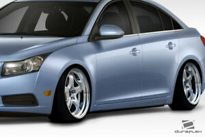 Duraflex N Design Side Skirts 2 Piece For Cruze Chevrolet 11 15 Ed_112710