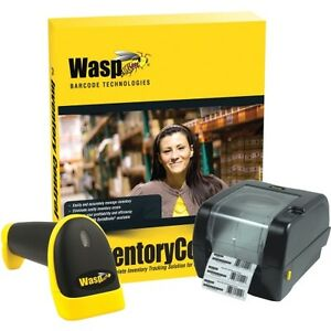 Wasp Inventory Control Standard wws550i Scanner wpl305 Barcode Printer