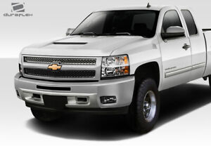 Duraflex Rk s Ram Air Hood 1 Piece For Silverado Chevrolet 07 13 Ed_112797