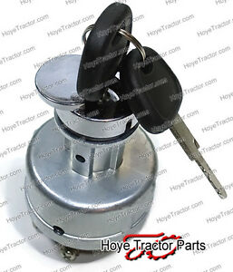 Ignition Starter Switch For John Deere Tractors 650 750 850 950 1050 Ch11696