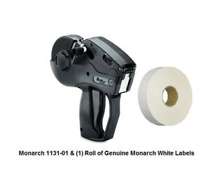 New Monarch 1131 01 With 2 500 Labels Ink Roller free Shipping lowest Price