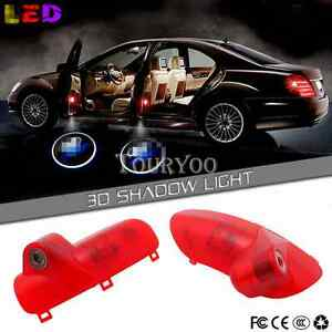 2x Led Door Welcome Lamps Laser Projector Light For Hyundai Sonata 8 2010 2013