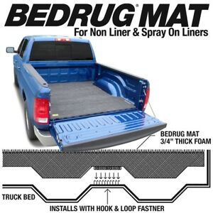 Bmy05dcs Bedrug Carpet Bed Liner Mat Toyota Tacoma 5 Bed 2005 2019