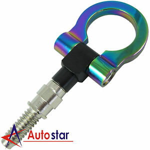Brand New Neo Chrome Cnc Racing T2 Tow Hook For Euro Bmw 1 3 5 M E Series X3 Z4
