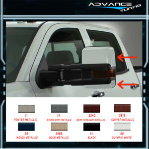 For Painted 99 02 Silverado Side Towing Mirrors Power Heated Signal Arrow Light