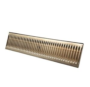 20 X 5 Stainless Steel Drip Tray With Drain Surface Mount Drip Tray beer bar