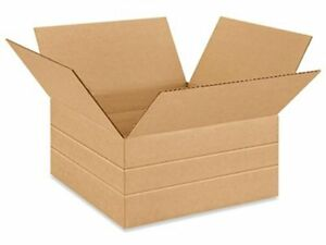 25 12 1 2 X12 1 2 X 12 Multi depth Cardboard Record Mailer Shipping Box Boxes