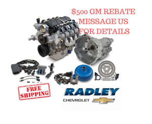Chevrolet Oem Gm Performance Ls3 430hp Connect Cruise Package Engine 19301326