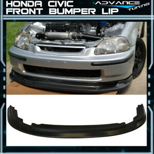 Jdm First Molding For 96 98 Honda Civic Ek Front Bumper Lip Pu