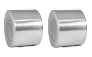 2 Rolls Aluminum Foil Tape 4 X 150 With Liner Malleable Foil Free Shipping