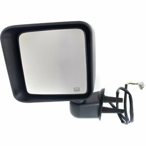 68229611aa Ch1320372 New Mirror Driver Left Side Heated Lh Hand Jeep Wrangler 14