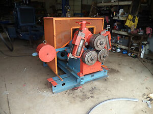 Buffalo No 1 Angle Roll Roller Machine 3 X 3 8 Capacity