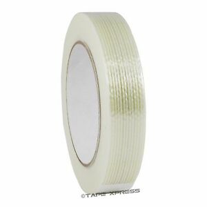 1 X 60 Yd Filament Reinforced Strapping Fiberglass Tape 3 9 Mil Free Shipping