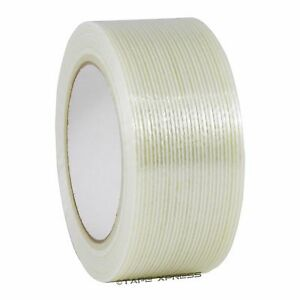 2 X 60 Yd Filament Reinforced Strapping Fiberglass Tape 3 9 Mil Free Shipping