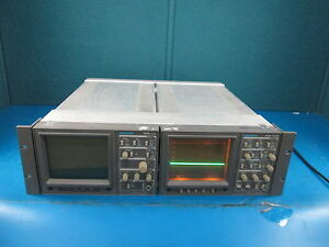 Tektronix 1720 Vector Scope S n B016424 1730 Waveform Monitor S n B027187