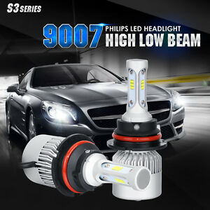 Philips Hb5 9007 252w 25200lm Led Headlight Kit Hi Low Beam White 6000k Bulbs