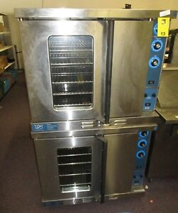 Duke 613 e1v Full Size Electric Convection Oven Double Stack 480v 3 Phase
