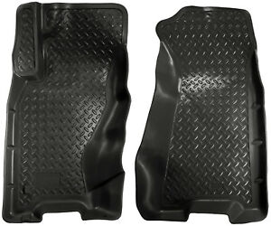 Husky Liners Classic Floor Mats Front Row Black For Jeep Grand Cherokee