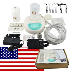 Us Dental Piezo Ultrasonic Scaler Cavitron Self Contained Water W Bottle 6 Tips